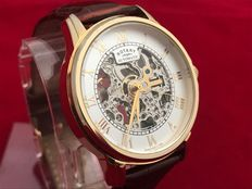 Rotary Skeleton Gold – Men's wristwatch