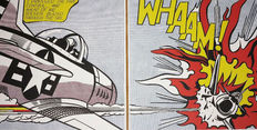 Roy Lichtenstein (after) - Whaam!
