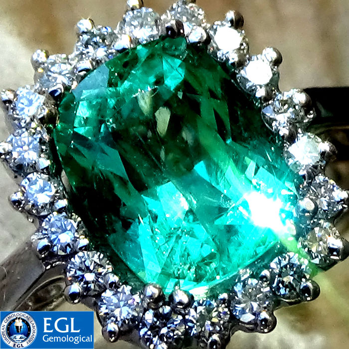 ring colombian gold with rose in prouctdetail aaa carat diamond quality emerald halo