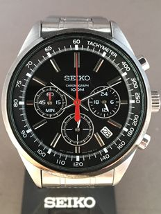 Seiko chronograph – men's wristwatch – 21st century