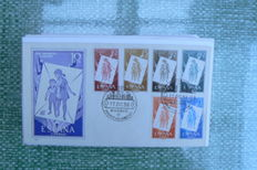 Spain 1956/2004 – First Day Covers, lot of 220 items.