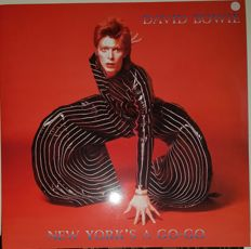 David bowie    New York A Go Go   2 LPs