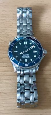 Omega Seamaster, 300 m Professional, automatic from 2010, +/- 41 mm, for men