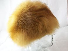 Julienne Mordant – fur hat – fox