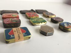12 (tin) boxes for 78t gramophone needles, various brands