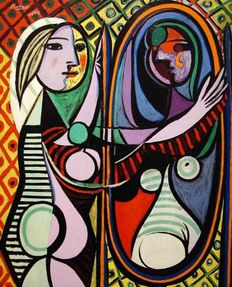 Pablo Picasso (after) - Girl Before the Mirror