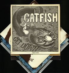 Lot of six rock, experimental, progressive and ambient albums by Catfish, Finch, Edgar Froese, Intergalactic Touring Band, Cyril Havermans and Water