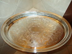 Large tray, Fleuron, France approximately 1970/80