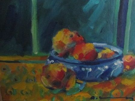 Adrien Moroni (1943-) - summer fruits