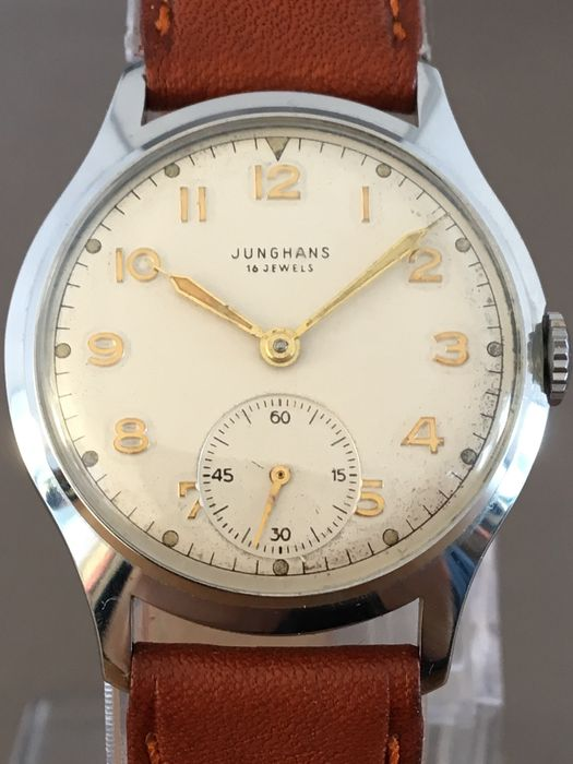 Junghans Sub Second men's wristwatch – Circa 1960s