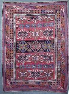 Antique Shirvan – Wool – Circa 1920