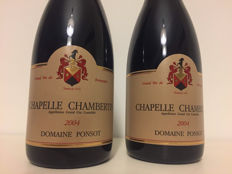 2004 Domaine Ponsot Chapelle-Chambertin Grand Cru, Cote de Nuits – 2 bottles