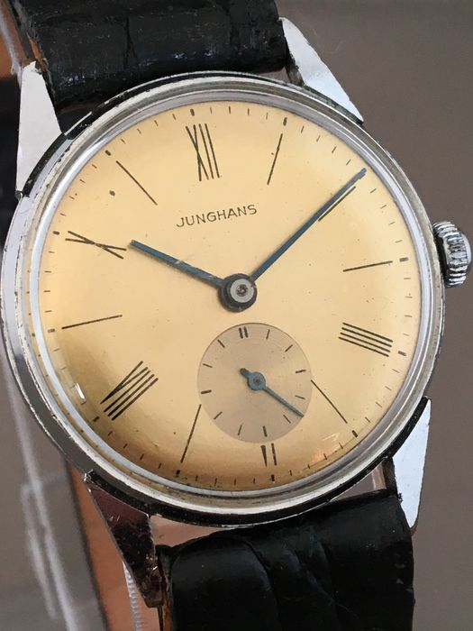 Junghans Sub Second, men's wristwatch – around the 1960s.