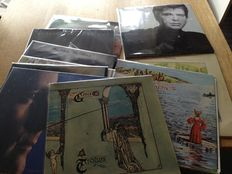 Lot of 10 albums by Genesis and members,  including double live album plus 5 (solo) albums by members all VG+/VG+
