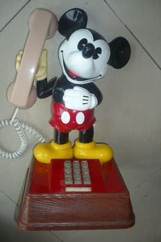 Authentic Mickey Mouse phone