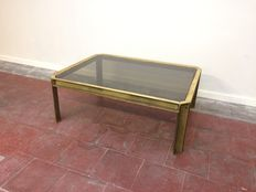 Peter Ghyczy - brass coffee table model 'T09 Embassy'