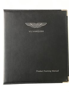 Aston Martin V12 Vanquish - Product Training Manual