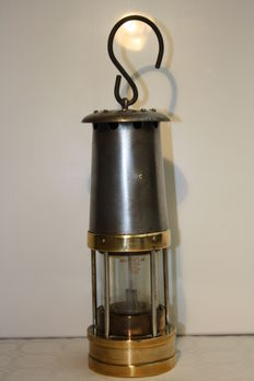 Original English miner's lamp