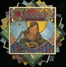 Lot of eight Quicksilver Messenger Services albums including six of their studio albums
