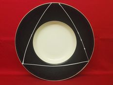 The Pier ceramics - glazed ceramic platter - 45 cm
