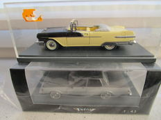 Neo - Scale 1/43 - Lot with 2 models: Chevrolet Caprice Classic and Pontiac Star Chief
