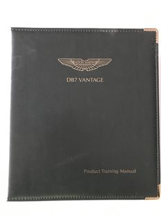 Aston Martin DB7 Vantage - Product Training Manual