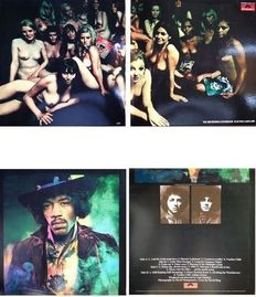 "The Jimi Hendrix Experience 2 LP Set  ""Electric Ladyland"""