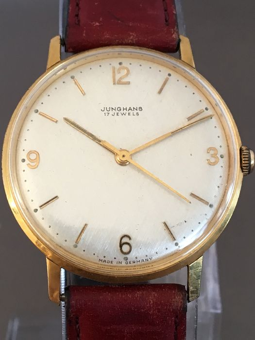 Junghans men's wristwatch -- Circa 1960s