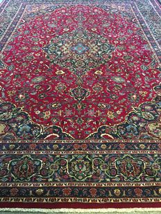 Beautiful, original, Persian KHORASSAN in exclusive, plant-based colours! Approx. 305 x 390 – in new condition – PERSIA - fast shipping!