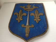 Coat of arms from armory - France - ca 1860