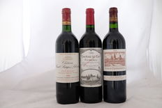 1x 1988 Chateau Haut – Bages Liberal, Grand Cru Classe Pauillac & 1x 1998 Chateau Le Gay, Pomerol & 1x 1999 Chateau Cos d'Estournel, Grand Cru Classe Saint-Estephe, France – 3 bottles in total
