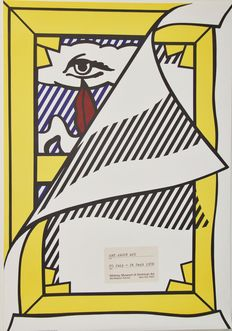 Roy Lichtenstein -  Art about Art - Whitney Museum of American Art, New York City
