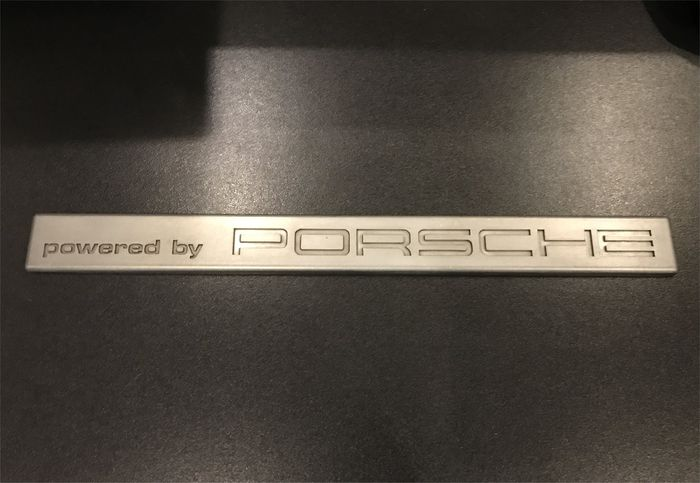 Porsche Original Paperweight in solid aluminium