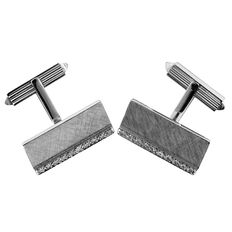 Large Men's Diamond Cufflinks, As New!