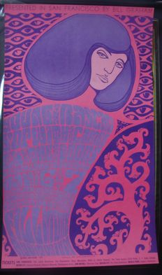 The Doors at The Fillmore San Francisco Wes Wilson 1967