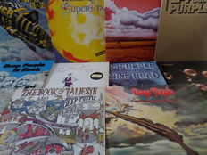 Lot of ten great albums of Deep Purple and related.