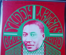 Muddy Waters at The Fillmore San Francisco Wes Wilson 1966