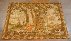 French Tapestry with Classic Scene
