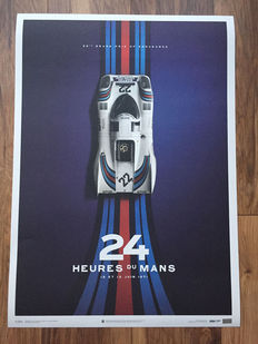 Porsche Collection fine art print - MARTINI Porsche 917 #22 - 24 heures du Mans 1971 - 50 x 70 cm