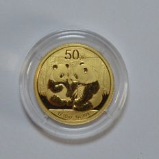 "China – 50 Yuan 2009, ""Panda"", 1/10 oz, gold"