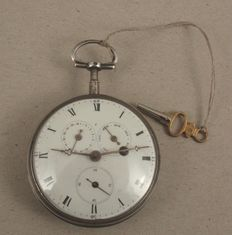 Men's pocket watch - 1830 France