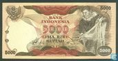 Indonesië 5.000 Rupiah 1975 (Replacement)