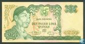 Indonesië 25 Rupiah 1968 (Replacement)