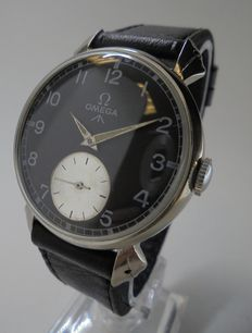 OMEGA - men's watch - black dial - 1952