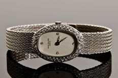 Patek Philippe - White Gold 3.0 CT Fullriver Diamond's Lady's Watch