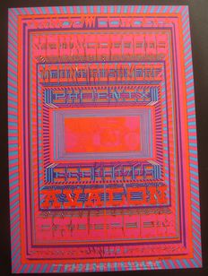 Family Dog Avalon Psychedelic Poster San Francisco 1968 One Hundred Six