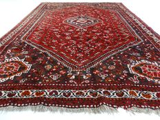 "Semi-antique Shiraz – 316 x 225 cm – ""Persian carpet – 100% Wool – In beautiful condition"""