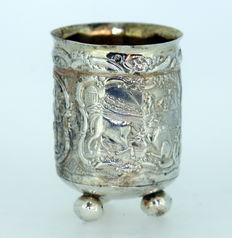 Antique Solid Silver Cup, the Netherlands