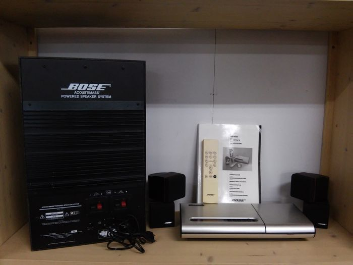 bose lifestyle 5 music system bose acoustimass powered. Black Bedroom Furniture Sets. Home Design Ideas