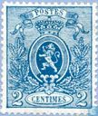 """Postage Stamps - Belgium [BEL] - State Coat of Arms """"Small Lion"""""""